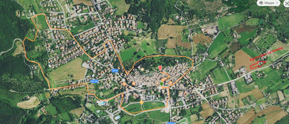 Sarteano Castle trail