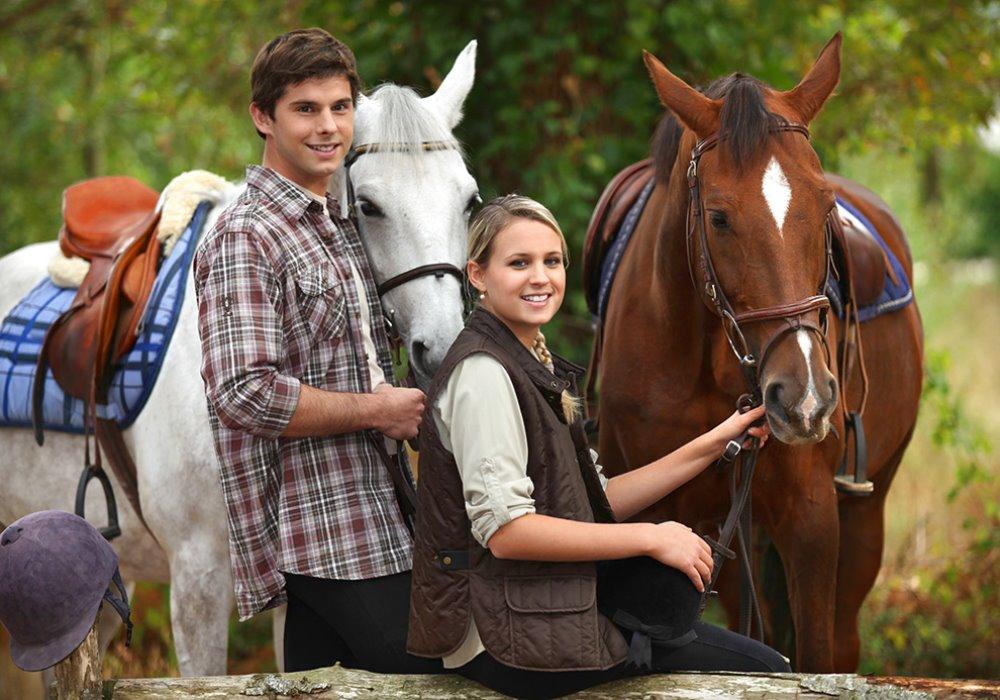 VACANZE PER AMANTI DELL'EQUITAZIONE Una passeggiata a cavallo in Toscana