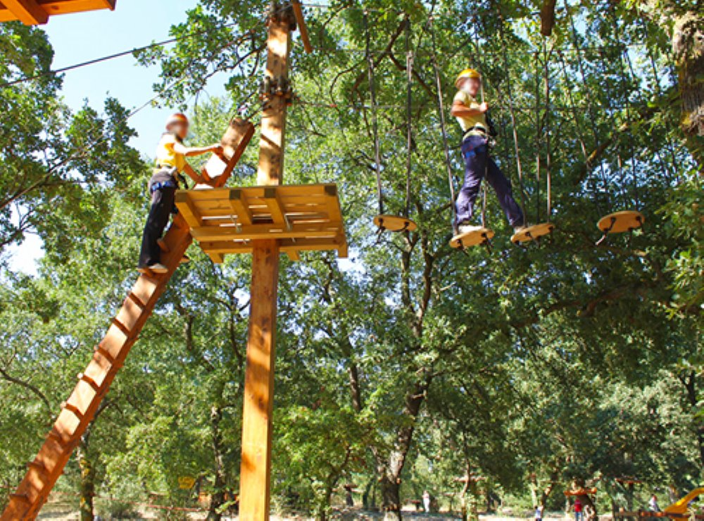 INDIANA PARK CHIANCIANO TERME Un parco avventura per divertirsi immersi nel verde